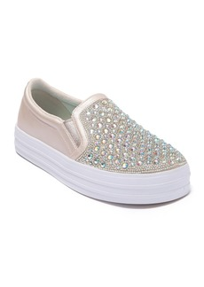 Skechers Double Up Sparkle Muse Slip-On Sneaker (Toddler, Little Kid, & Big Kid)