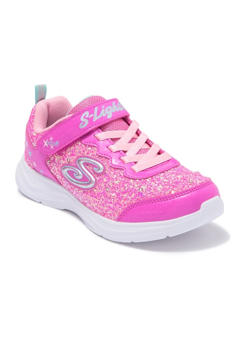 Skechers Glimmer Kicks Glitter N Glow Sneaker (Toddler, Little Kid, & Big Kid)