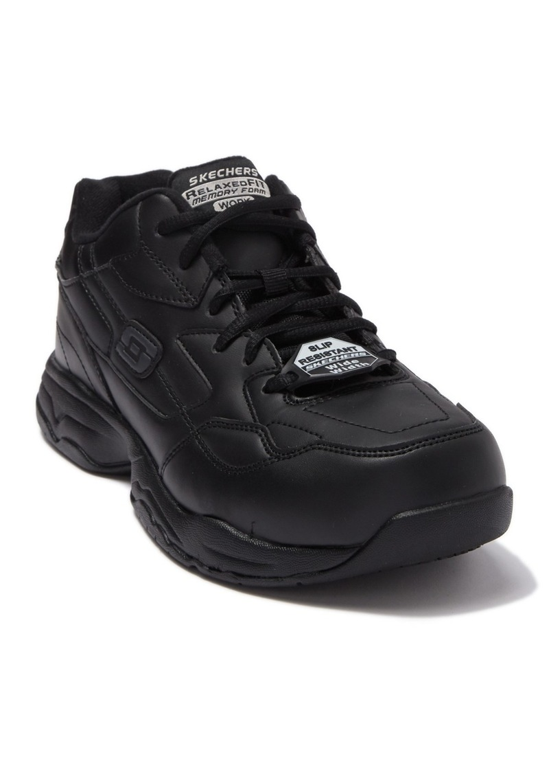 Skechers Relaxed Fit Felton Slip Resistant Sneaker - Wide Width Available