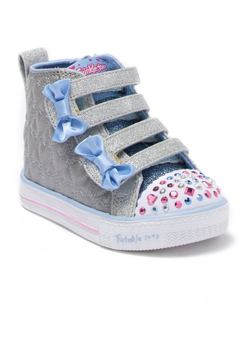 Skechers Shuffle Lite Quilted Beauties Sneaker (Toddler)