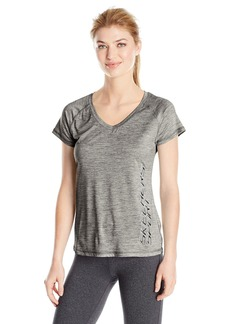 Skechers Active Women's Logo Heather Performance Tee  M