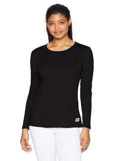Skechers Active Women's Mesh Pannel Long Sleeve Top  XXL
