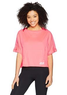 Skechers Active Women's Short Sleeve Oversize Sweatshirt  S