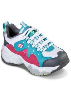 Skechers Big Girls D'Lites 3.0 Zenway Walking Sneakers from Finish Line