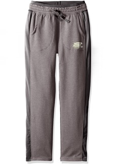 Skechers Big Girls' Relaxed Fit Heathered French Terry Pant  M