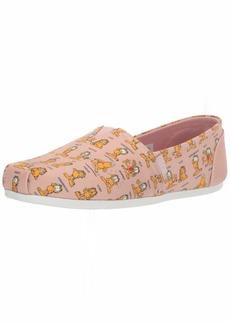 Skechers BOBS Women's Bobs Plush-Monday Moods. Garfield Slip on Ballet Flat   M US