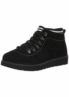 Skechers BOBS Women's Bobs Rocky-Up & Over. Suede Sock Fit Hiking Boot w Memory Foam   M US