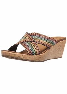 Skechers Cali Women's Beverlee Delighted Wedge Sandal   B(M) US