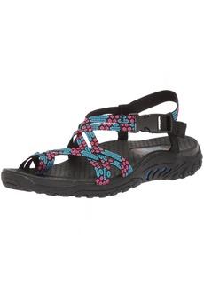 Skechers Cali Women's Reggae Loopy Toe Ring Sandal blue/pink