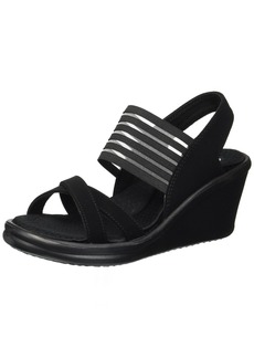Skechers Cali Women's Rumblers-Solar Burst Wedge Sandal