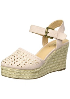 Skechers Cali Women's Turtledove Espadrille Wedge Sandal