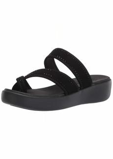 Skechers Cali Women's womens Criss-cross Toe Loop Sport Sandal   US