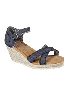 "Skechers® ""Cocoon"" Wedge Sandals"
