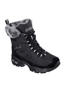 "Skechers® ""D'Lites - Chalet"" Cold Weather Boots"