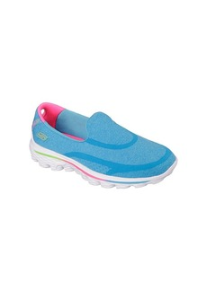 "Skechers® Girls' ""GOwalk 2 - Super Sock"" Slip On Shoes"