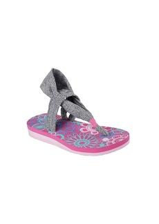 "Skechers® Girls' ""Meditation - Studio Kicks"" Sling Sandals"