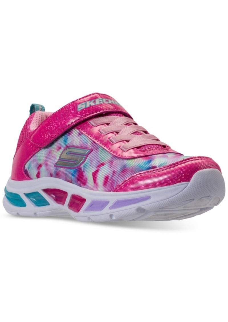 94bd32c51847 Little Girls  Preschool S Lights  Litebeams Athletic Sneakers from Finish  Line. Skechers