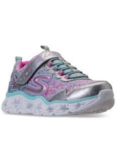 Skechers Big Girls' S Lights: Galaxy Lights Light-Up Athletic Sneakers from Finish Line