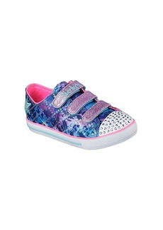 "Skechers® Girls' Twinkle Toes: Chit Chat ""Dazzle Days"" Sneakers"
