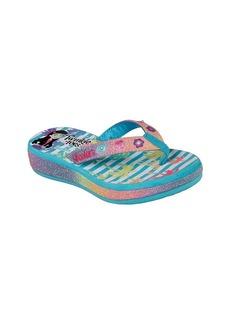 "Skechers® Girls' Twinkle Toes: Sunshines ""Beach Life"" Flip-Flops"