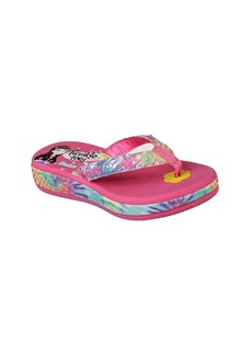 "Skechers Girls' Twinkle Toes: Sunshines ""Summer Stories"" Flip-Flops"