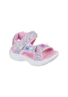 SKECHERS Glimmer Kicks Sandal (Walker & Toddler)