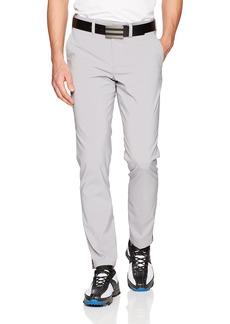 Skechers Golf Men's Eagle on 10 Modern Fit Flat Front Pant light gray