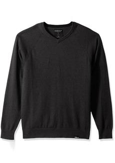 Skechers Golf Men's Fairway Long Sleeve V Neck Cottom Cashmere Sweater Vest  M