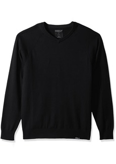 Skechers Golf Men's Fairway Long Sleeve V Neck Cottom Cashmere Sweater Vest  XXXL