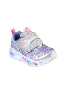 SKECHERS Heart Lights Light-Up Sneaker (Walker & Toddler)