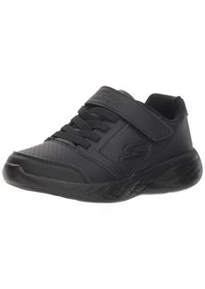 Skechers Kids Boys' GO Run 600-INFLUX Sneaker Black 11 Medium US Little