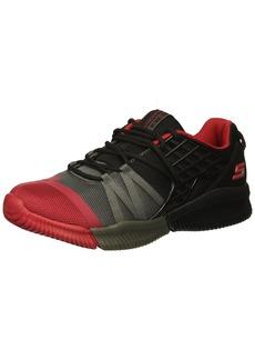 Skechers Kids Boys' ISO-Flex Sneaker Black/Grey/red 7 Medium US Big