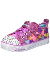 Skechers Kids Girls' Shuffle LITE-Beauty Bounce Sneaker  12 Medium US Little
