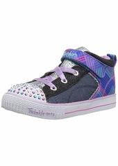 Skechers Kids Girls' Shuffle LITE-Cutie Beauty Sneaker  11 Medium US Little