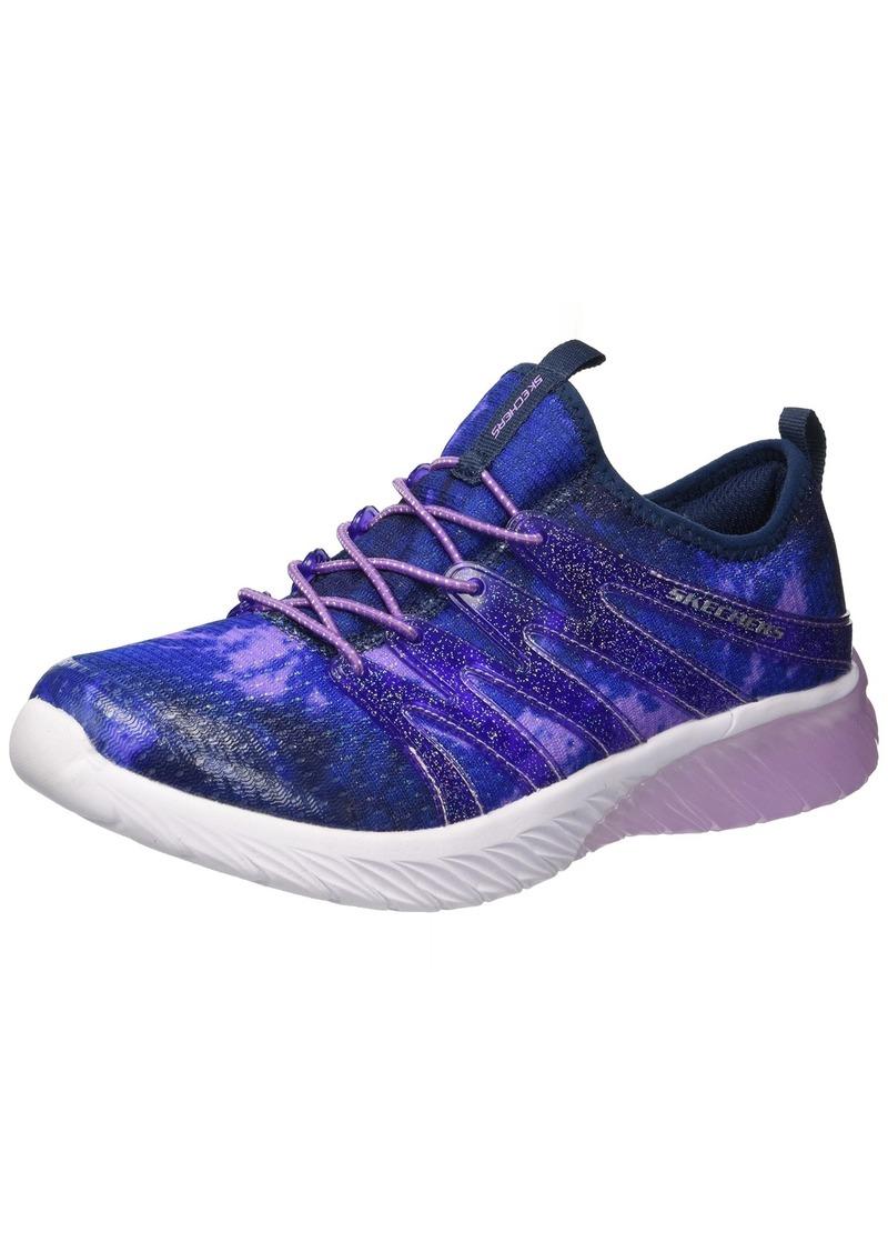 Kids Girls' Skech GEM Sneaker NVLV 13 Medium US Little
