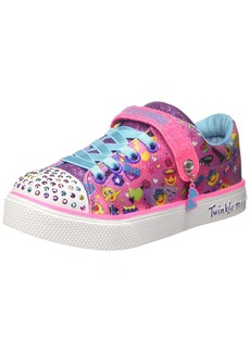 cf758b828cd1 Skechers Kids Girls  Twinkle Breeze 2.0-Character Sneaker hot Pink Multi  12.5 Medium