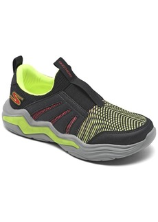 Skechers Little Boys Sports Lighted - Erupters Iv Zandor Slip-On Running Sneakers from Finish Line