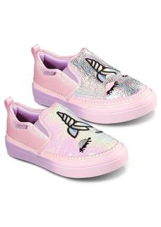 Skechers Little Girls Flip Kicks Twi-Lights 2.0 - Unicorn Daydreams Casual Sneakers from Finish Line