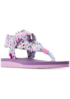 Skechers Little Girls' Meditation Thong Flip-Flop Sandals from Finish Line