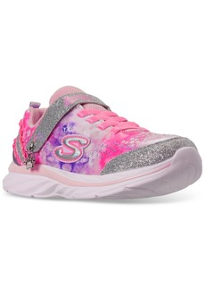 Skechers Little Girls Quick Kicks Lil Princess Stay-Put Closure Casual Training Sneakers from Finish Line