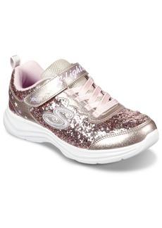 Skechers Little Girls S Lights: Glimmer Kicks - Glitter N' Glow Casual Sneakers from Finish Line
