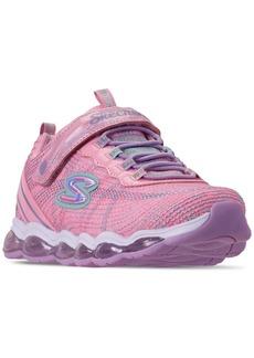 Skechers Little Girls' S Lights: Glimmer Lights Slip-On Training Sneakers from Finish Line