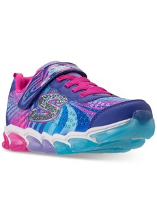 Skechers Little Girls' S Lights: Jelly Beams Light-Up Athletic Sneakers from Finish Line