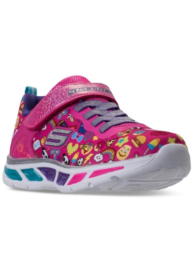 0e42433eec25 Little Girls  S Lights  Litebeams - Feelin It Light-Up Athletic Sneakers  from Finish Line. Skechers