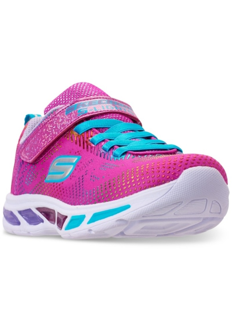 067ab0a0c74c Little Girls  S Lights  Litebeams - Gleam N  Dream Light Up Running  Sneakers from Finish Line. Skechers