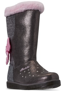Skechers Little Girls Twinkle Toes Glitzy Glam Cozy Cuties Boots from Finish Line