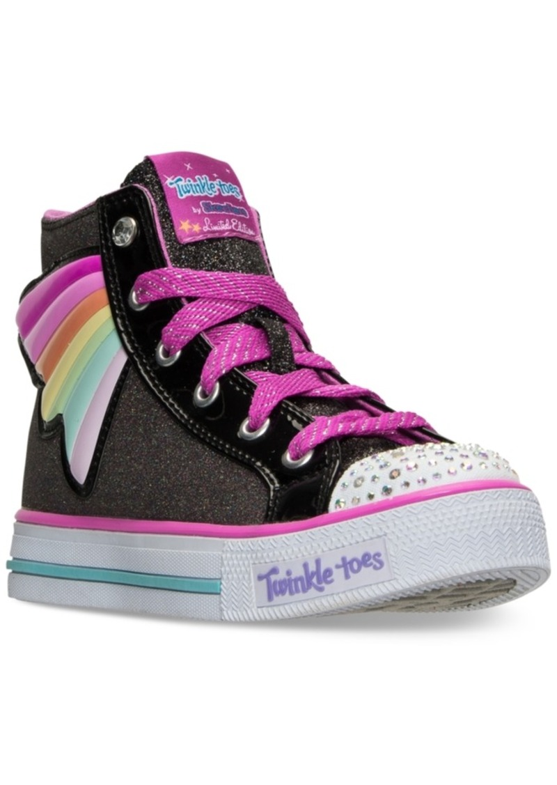 little girl skechers twinkle toes