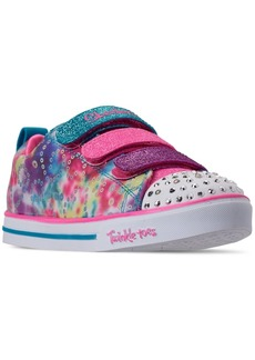 Skechers Little Girls' Twinkle Toes: Sparkle Lite - Rainbow Brights Casual Sneakers from Finish Line