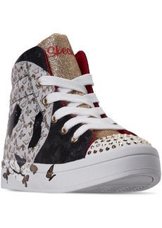 Skechers Little Girls Twinkle Toes Twi-Lites High-Top Light-Up Casual Sneakers from Finish Line