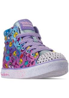 44ba7650a617 Skechers Little Girls  Twinkle Toes  Twinkle Breeze 2.0 - Sparkles   Smiles  High-